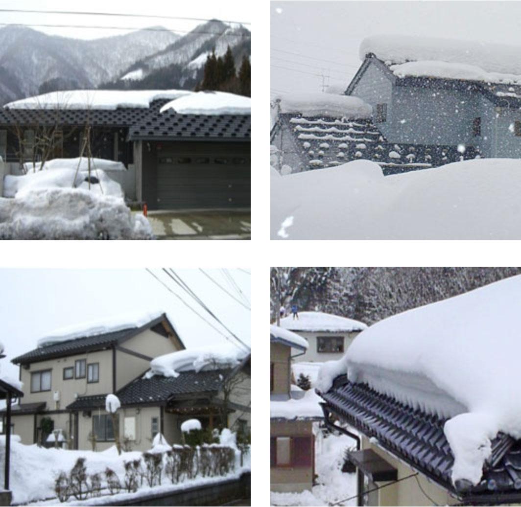 福井 屋根融雪